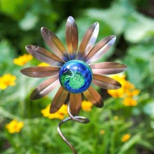 4263 Illuminarie Sunflower Stake