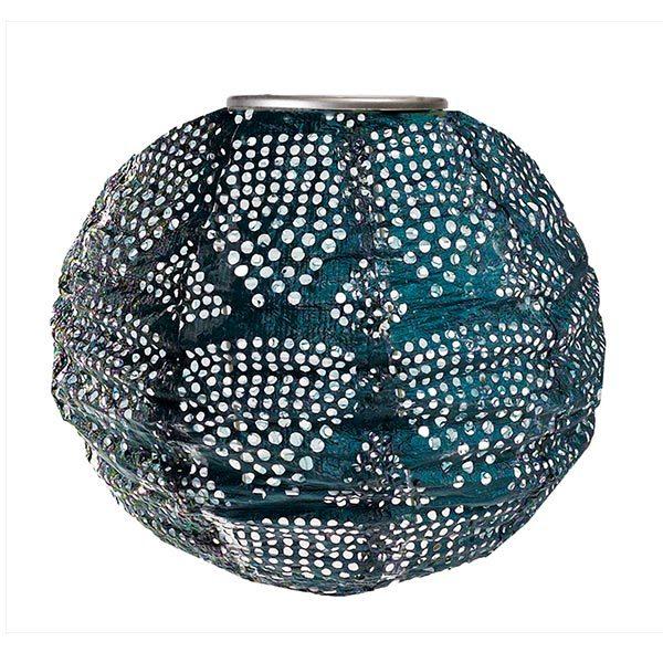Soji Stella Solar Lantern - Ink Wave - Globe