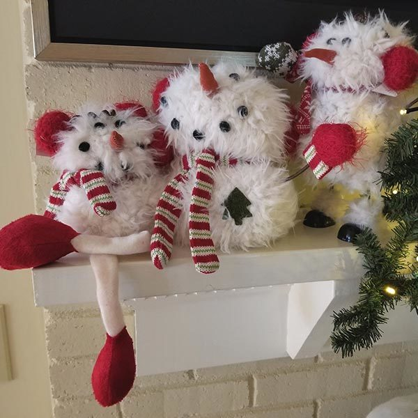 Collection Furry Snowmen