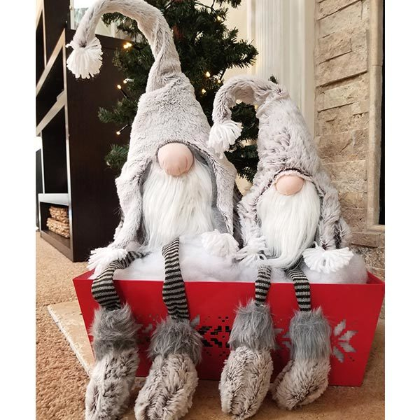 Collection Grey Dangle Leg Gnome