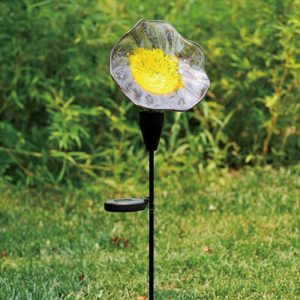 G025PY Solar Flowers – Purple / Yellow