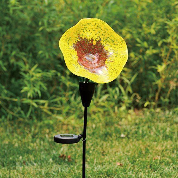 G025YR Solar Flowers – Yellow / Red