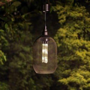 """QTT430SLR-TM 12"""" Hanger Solar Cage LED Light"""