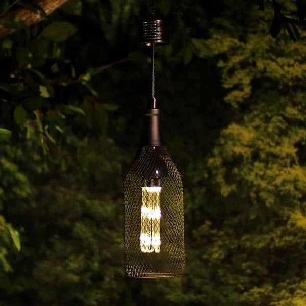 """QTT391SLR-TM 13"""" Hanger Solar Cage LED Light"""