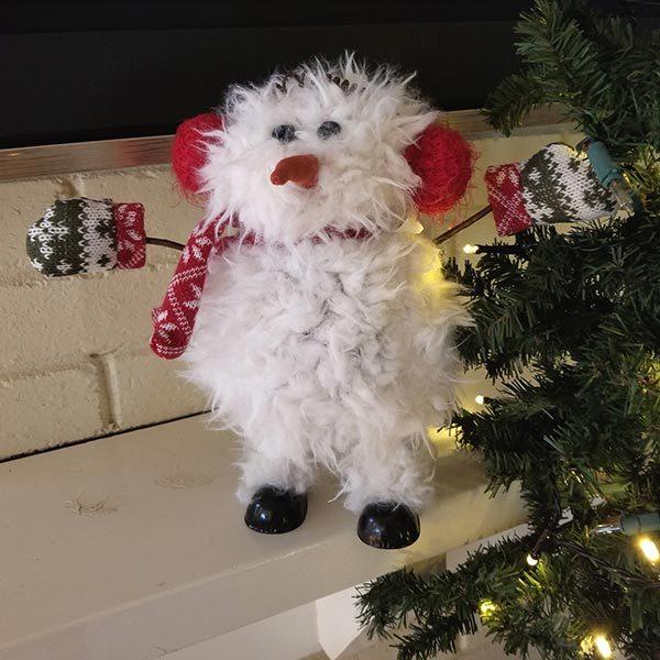 Furry Wobble Snowman
