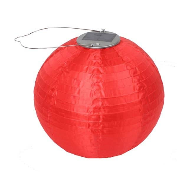 29495 Soji Original Solar Lantern - Red
