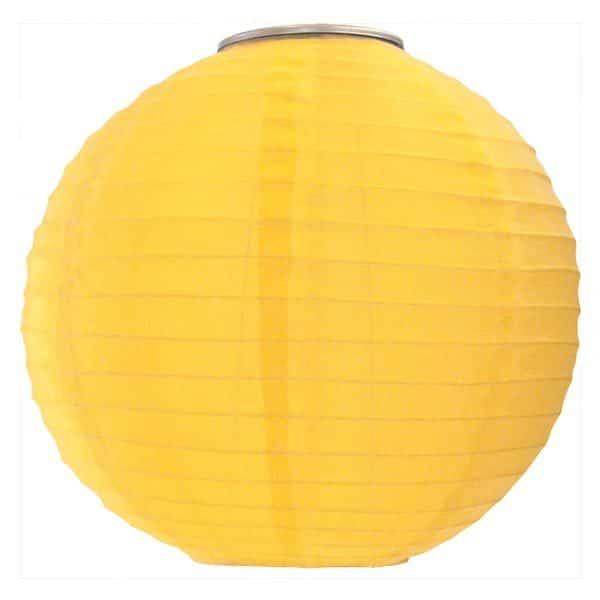 30392 Soji Original Solar Lantern – Yellow