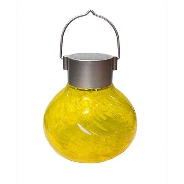30566 Solar Tea Lantern – Saffron